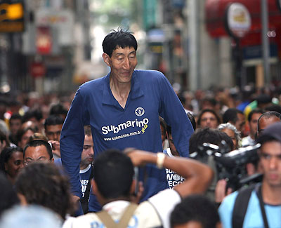 Cash For Clunkers >> Bao Xishun, the World's Tallest Man | The Adam Lee Commentary